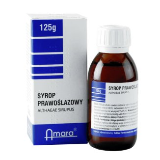 Syrop prawoślazowy 35,9 g/ 100 g, 125 g - zdjęcie produktu