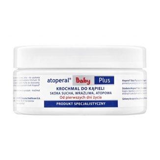 Atoperal Baby Plus, krochmal do kąpieli, skóra sucha, wrażliwa, atopowa, od 1 dnia życia, 125 g - zdjęcie produktu