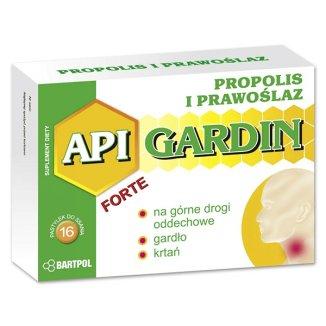 Api Gardin Forte, Propolis, prawoślaz, 16 pastylek do ssania - zdjęcie produktu