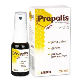 Bartpol Propolis Forte, 20 ml - zdjęcie produktu