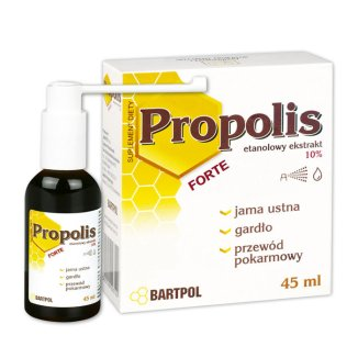 Bartpol Propolis Forte, 45 ml - zdjęcie produktu