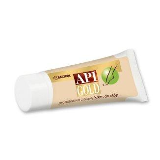 Api Gold, Propolisowo-ziołowy krem do stóp, 30 g - zdjęcie produktu