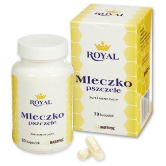 Royal Mleczko pszczele, 30 kapsułek - zdjęcie produktu