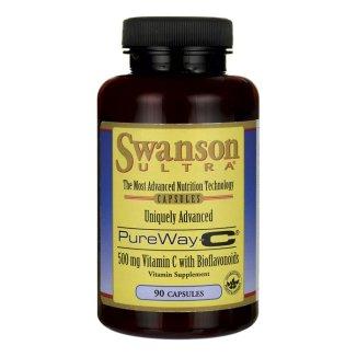 Swanson, PureWay-C 500 mg, 90 kapsułek - zdjęcie produktu