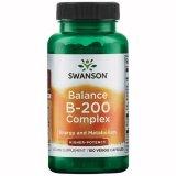 Swanson Balance B-200 Complex, 100 kapsułek wegańskich - miniaturka zdjęcia produktu