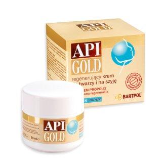 Api Gold, regenerujący krem do twarzy i na szyję, 30 ml - zdjęcie produktu