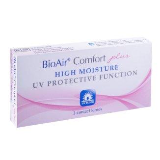 BioAir Comfort Plus, soczewki kontaktowe, 30-dniowe, -1,25, 3 sztuki - zdjęcie produktu