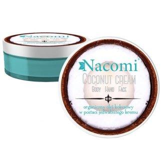 Nacomi, organiczny olej kokosowy w postaci jedwabistego kremu, 100 ml - zdjęcie produktu