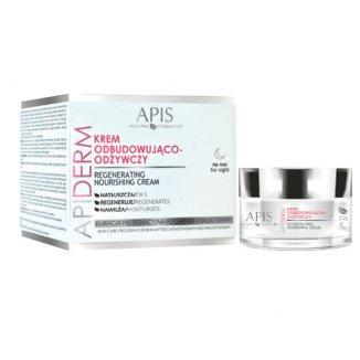 Apiderm, krem odbudowująco-odżywczy krem na noc, 50 ml - zdjęcie produktu