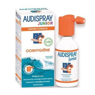 Audispray Junior, roztwór wody morskiej do higieny uszu, 25 ml - zdjęcie produktu