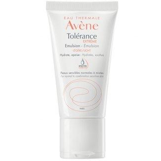 Avene Tolerance Extreme, emulsja do twarzy o lekkiej konsystencji, skóra wrażliwa, normalna i mieszana, 50 ml - zdjęcie produktu