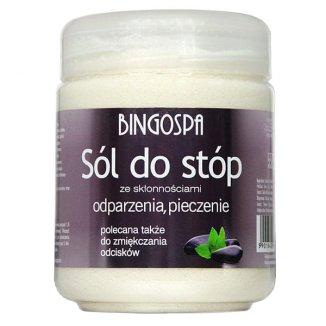 Bingospa, sól do stóp ze skłonnościami do odparzeń i pieczenia, 550 g - zdjęcie produktu