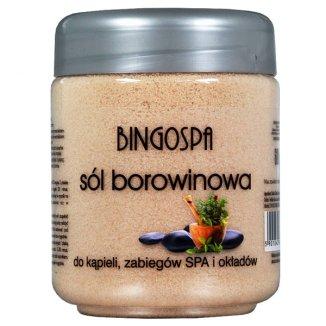 Bingospa, sól borowinowa do kąpieli, 600 g - zdjęcie produktu