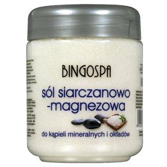 Bingospa, sól siarczanowo-magnezowa do kąpieli, okładów, zabiegów SPA, 600 g - zdjęcie produktu