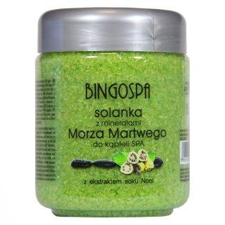 Bingospa, solanka z minerałami Morza Martwego i ekstraktem soku Noni, 550 g - zdjęcie produktu