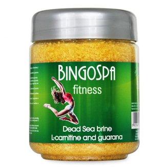 Bingospa, solanka SPA z minerałami Morza Martwego z L-karnityną i guaraną, 550 g - zdjęcie produktu
