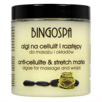 Bingospa, algi na cellulit i rozstępy do masażu i okładów, 250 g - zdjęcie produktu