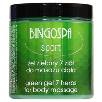 Bingospa, żel do masażu SPA z siedmioma ziołami, 250 g - zdjęcie produktu