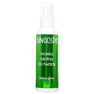 Bingospa, maska błotna do twarzy z zieloną glinką, 150 g - zdjęcie produktu
