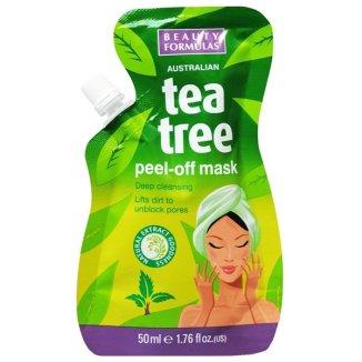 Beauty Formulas Tea Tree, maseczka oczyszczająca peel-off, 50 ml - zdjęcie produktu