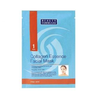 Beauty Formulas, maseczka do twarzy kolagen, 1 sztuka - zdjęcie produktu
