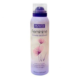 Beauty Formulas, dezodorant do higieny intymnej, 150 ml - zdjęcie produktu
