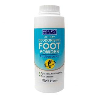 Beauty Formulas, puder do stóp antybakteryjny, 100 g - zdjęcie produktu