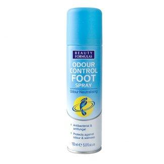 Beauty Formulas Kontrola Zapachu, dezodorant antybakteryjny do stóp, 150 ml - zdjęcie produktu