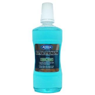 Beauty Formulas, Active Extra Strength Mouthwash, płyn do płukania jamy ustnej, 500 ml - zdjęcie produktu