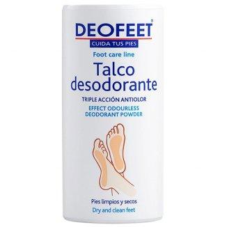 Deofeet, talk do stóp dezodorujący, o potrójnym działaniu, 100 g - zdjęcie produktu