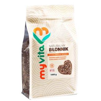 MyVita, Błonnik witalny, naturalny, babka płesznik nasiona, łuska babki, 1000 g - zdjęcie produktu