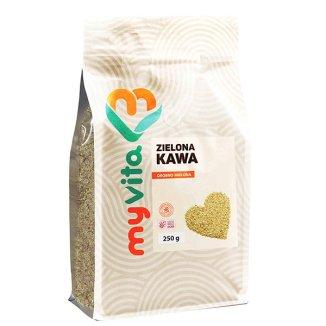 MyVita, Zielona kawa mielona, 250 g - zdjęcie produktu