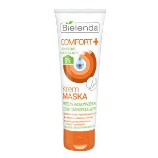 Bielenda Comfort +, krem-maska przeciw zrogowaceniom z efektem eksfoliującym, 100 ml - zdjęcie produktu