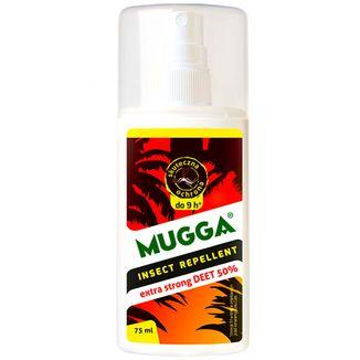 Mugga Insect Repellent, spray na komary tropikalne, DEET 50%, 75 ml - zdjęcie produktu