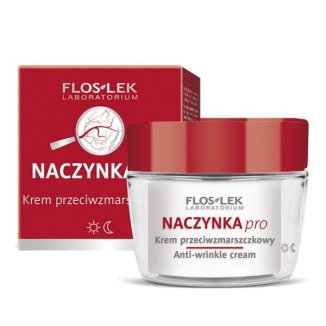 Flos-Lek Naczynka pro, krem przeciwzmarszczkow, 50 ml - zdjęcie produktu