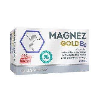Magnez Gold B6, 50 tabletek - zdjęcie produktu