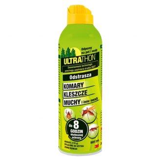 Ultrathon, spray odstraszający komary, kleszcze, muchy i inne owady, DEET 25%, 170 g - zdjęcie produktu