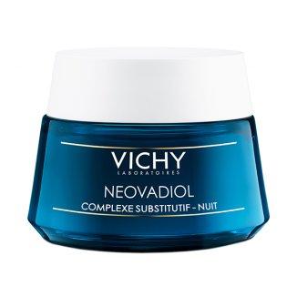 Vichy Neovadiol Kompleks Uzupełniający, krem odbudowujący dla kobiet w trakcie menopauzy, na noc, 50 ml - zdjęcie produktu