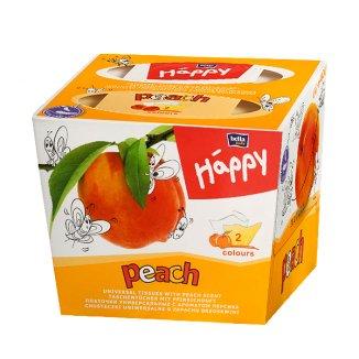Chusteczki higieniczne Bella Happy, peach, 80 sztuk - zdjęcie produktu