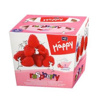 Chusteczki higieniczne Bella Happy, raspberry, 80 sztuk - zdjęcie produktu