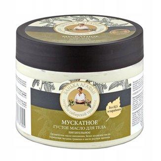 Babuszka Agafia, masło do ciała muszkatołowe, 300 ml - zdjęcie produktu