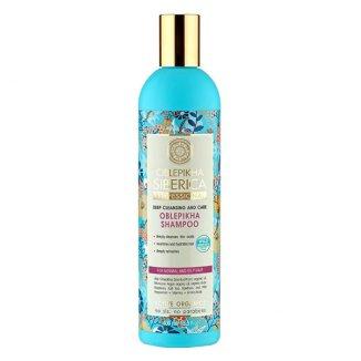 Natura Siberica, Oblepikha, szampon rokitnikowy do włosów tłustych i normalnych, 400 ml - zdjęcie produktu