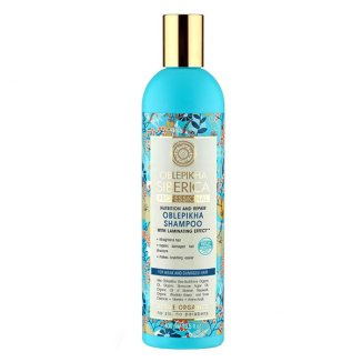 Natura Siberica, Oblepikha, szampon do włosów osłabionych i zniszczonych, 400 ml - zdjęcie produktu
