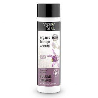Organic Shop Skarb Sri Lanki, szampon do włosów zwiększający objętość, 280 ml - zdjęcie produktu