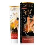 Eveline Just Epil Argan Oil, ultradelikatny nawilżający krem do depilacji 9w1, 125 ml - miniaturka zdjęcia produktu