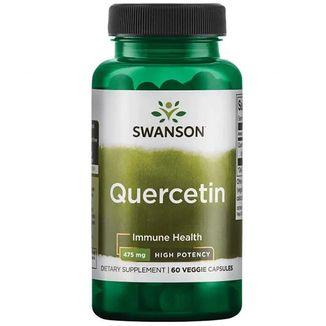 Swanson High Potency Quercetin, 60 kapsułek wegańskich - zdjęcie produktu