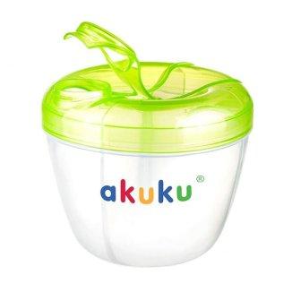 Akuku, pojemnik na mleko w proszku, zielony, A0361, 1 sztuka - zdjęcie produktu