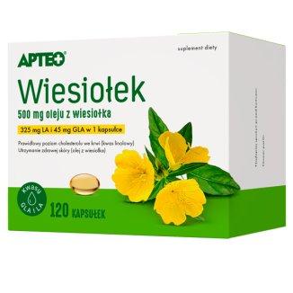 Apteo Wiesiołek, 120 kapsułek - zdjęcie produktu