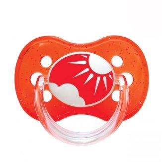 Canpol, smoczek gryzak kauczukowy, okrągły, Nature, rozmiar B, 6-18 miesiąca, 1 sztuka - zdjęcie produktu