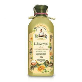 Babuszka Agafia, szampon do włosów regenerujący, 350 ml - zdjęcie produktu